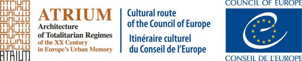 Logo ATRIUM Cultural Route Colour
